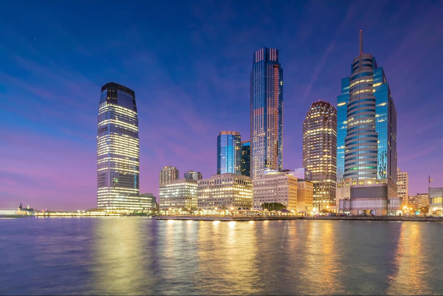 jersey city skyline image