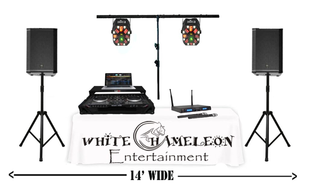 2)Event Package (White Table)