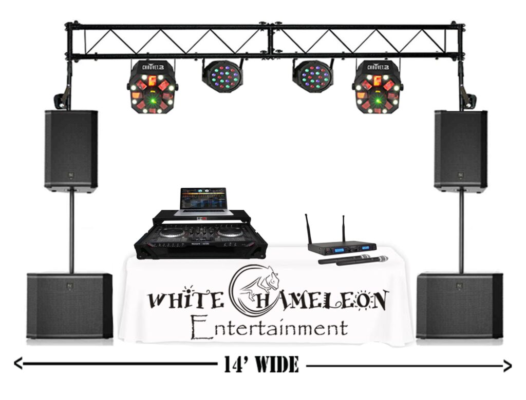 3)Entertainment Package (White Table)