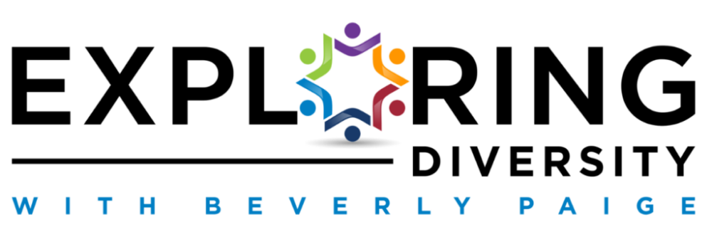Exploring diversity with beverly paige logo.