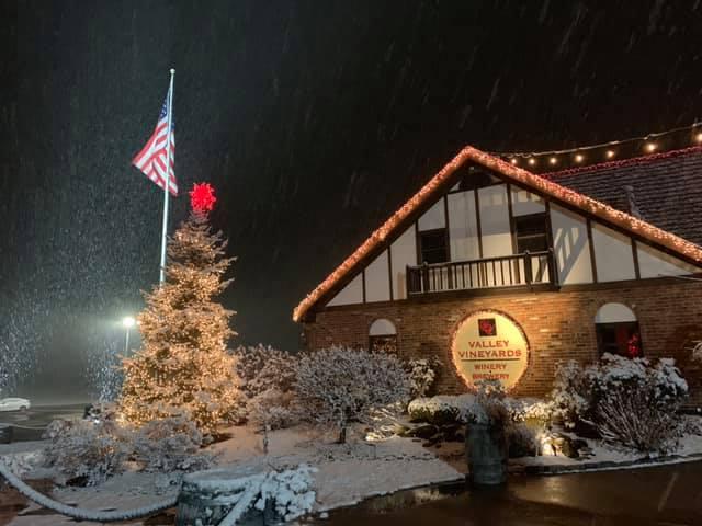Christmas at Valley Vineyards