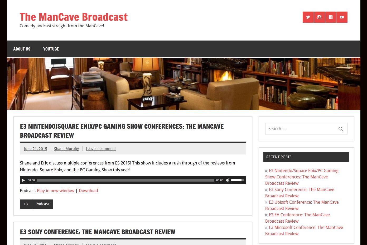 Check out mancavebroadcast.com
