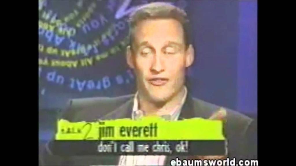 Chris Everett absolutely agrees.