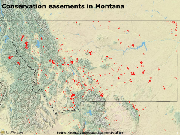 Conservation easements in Montana