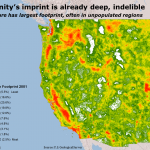 The West's human footprint