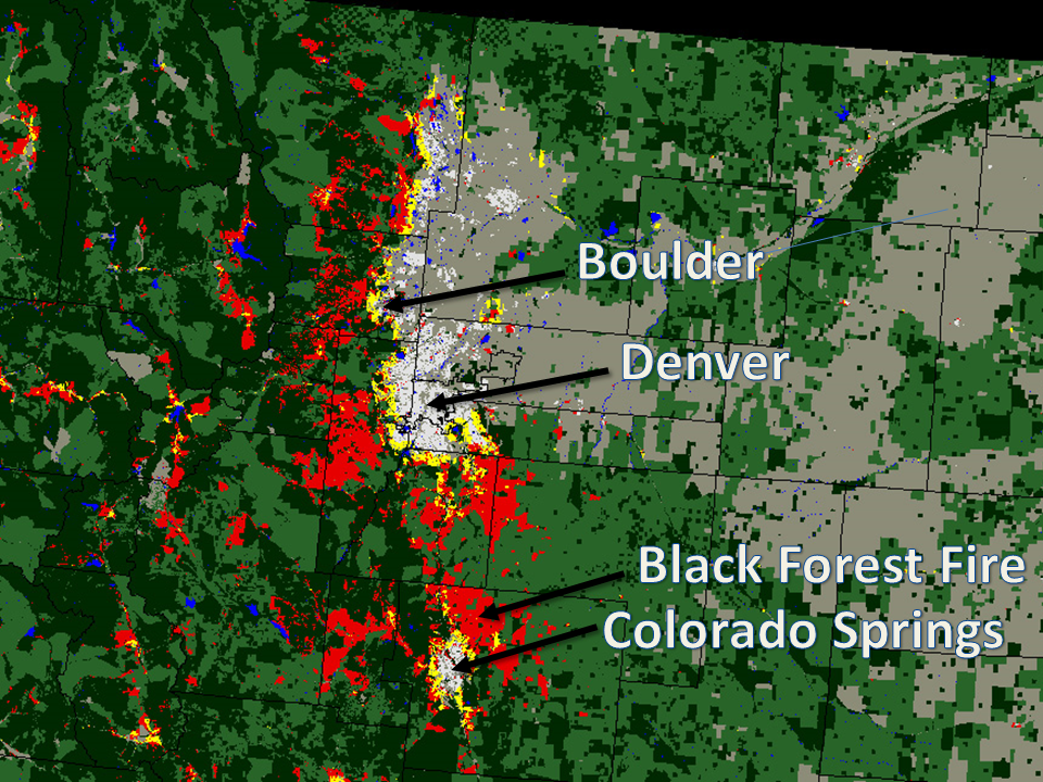 Mapping the Wildland-Urban Interface