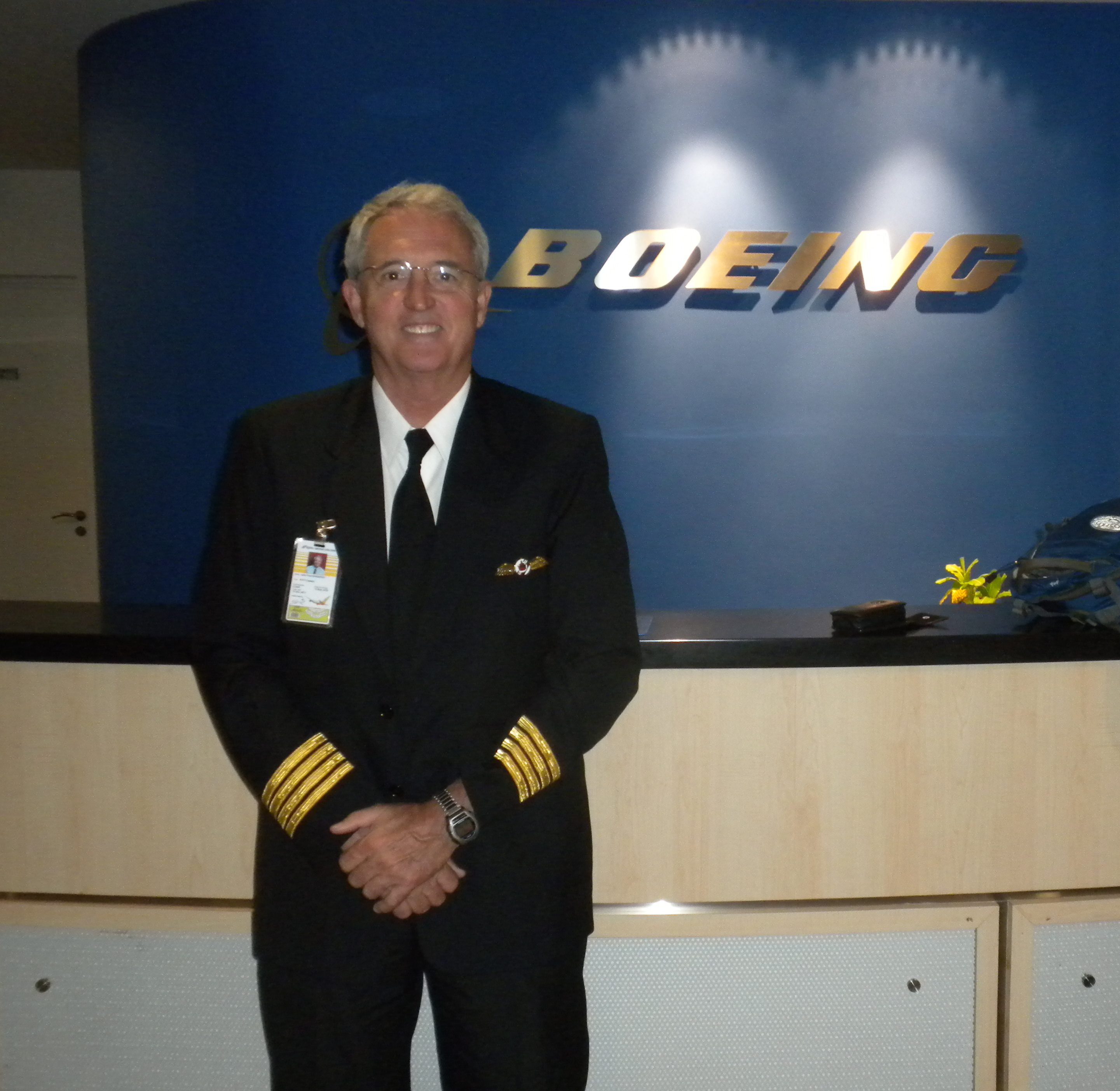 Captain John Disosway, Delta Air Lines (retired), Joins BMA As A B777 TCI
