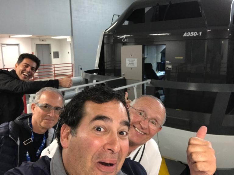 New Airbus 350 Simulator