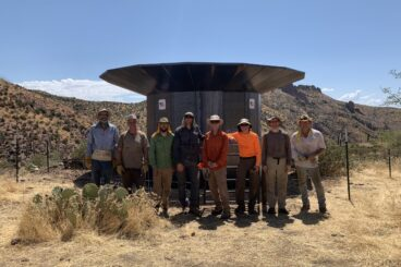 Arizona Trail Rainwater Collector