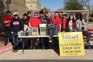 Arizona Students Recycling Used Technology