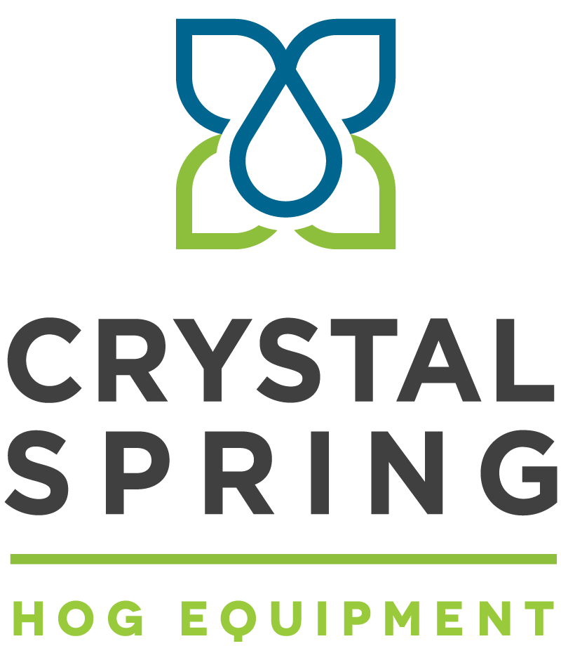 Crystal Spring Hog Equipment Square Logo