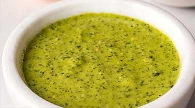 cilantro pesto sauce at a bolay restaurant near you