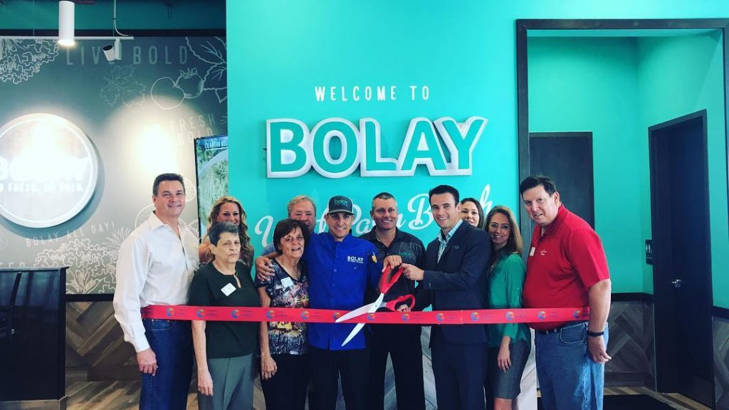 Grand opening of our West Palm Beach restaurant that has healthier food options