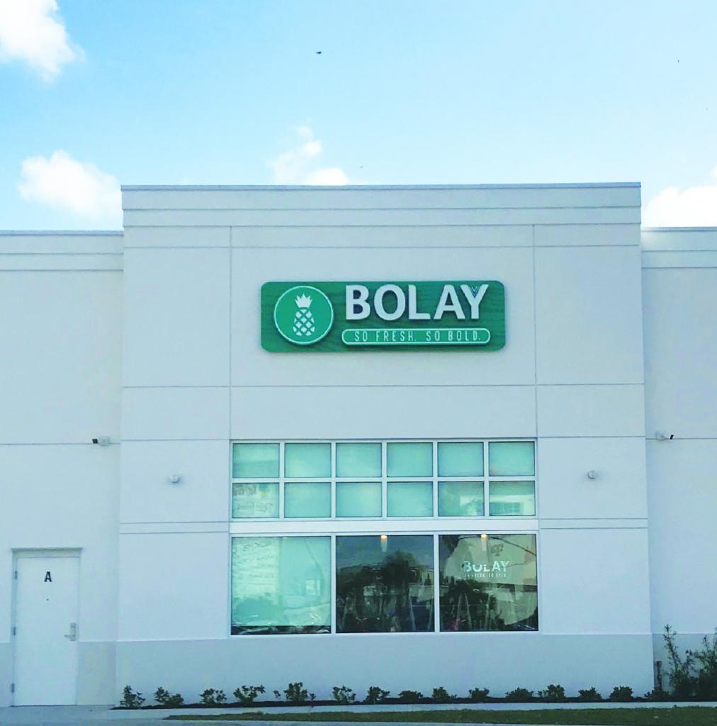 Bolay a restaurant with gluten friendly salad dressing
