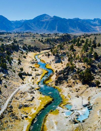 Hot Creek- Mono County, California