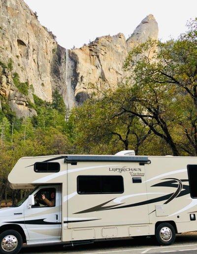 RV'ing in Yosemite