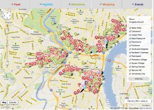 Neighborhoods Map