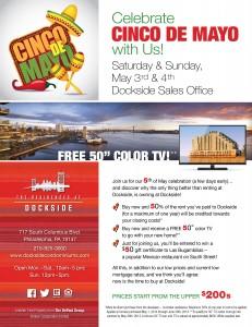Dockside Cinco de Mayo eblast