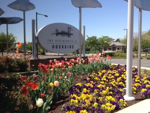 Spring at The Residences at Dockside