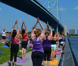 Dockside_Penn's Landing Yoga on the Pier