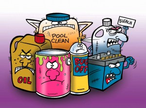 Dockside_ hazardous household waste