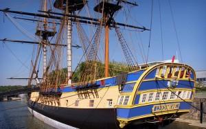 Dockside_Tall Ship Hermione