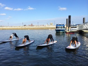 Dockside_Stand Up Paddleboard Yoga