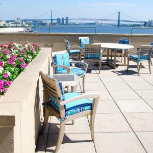 Dockside Outdoor terrace