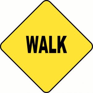 Dockside Walk Sign
