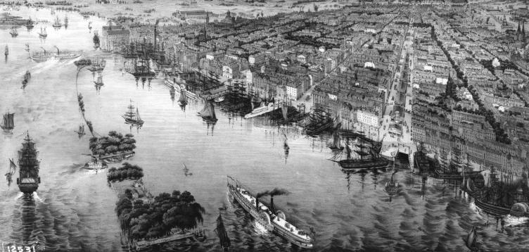 Dockside_historic Philadelphia Delaware Riverfront