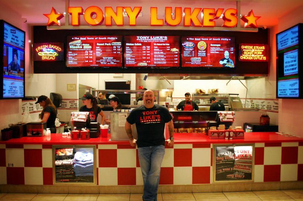 Dockside blog_Tony Luke at one of his restaurants