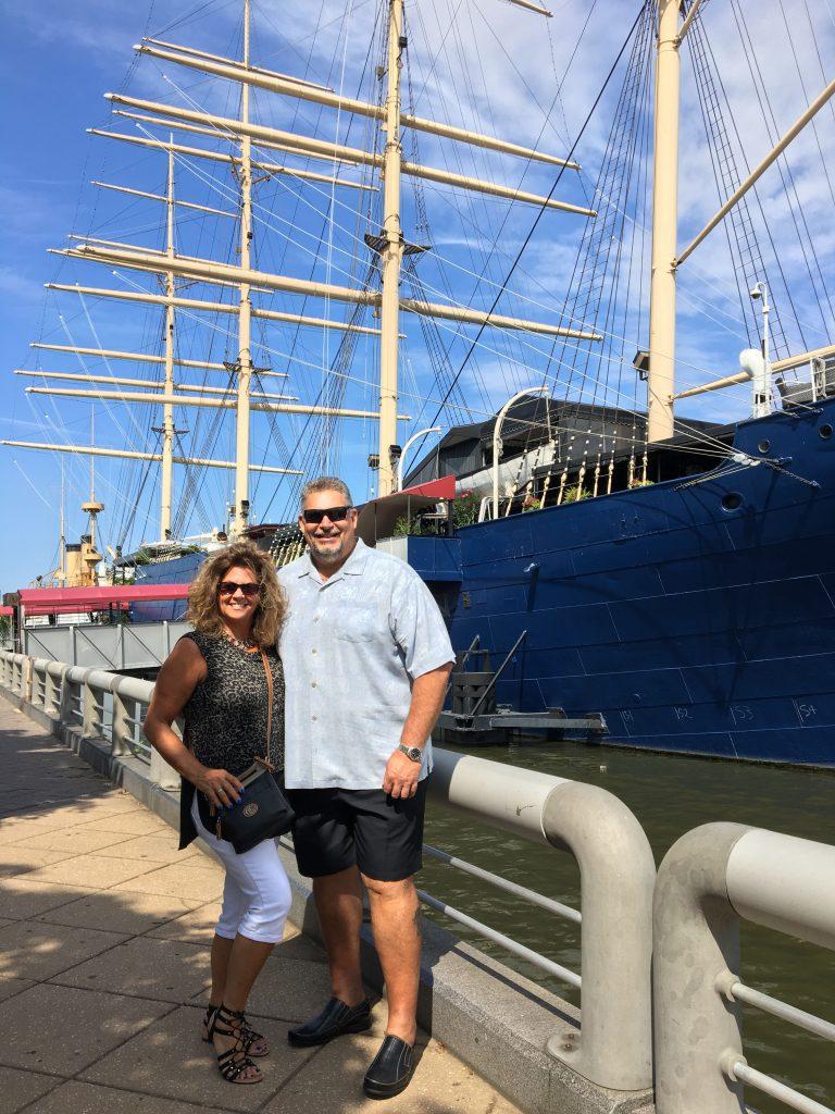 Dockside Blog_Tracey & Len Lynch, Jr.