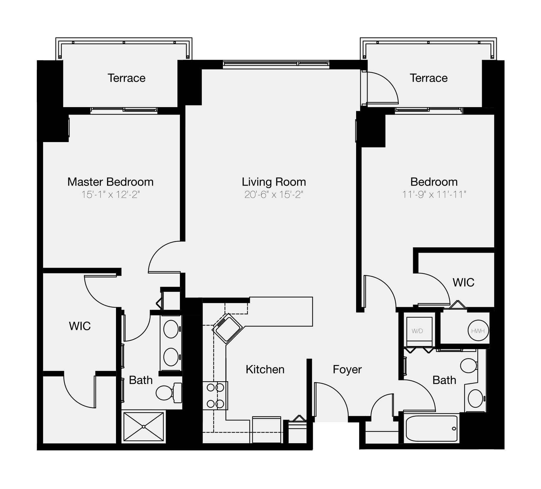 2-bedroom condo for sale in Center City Philadelphia