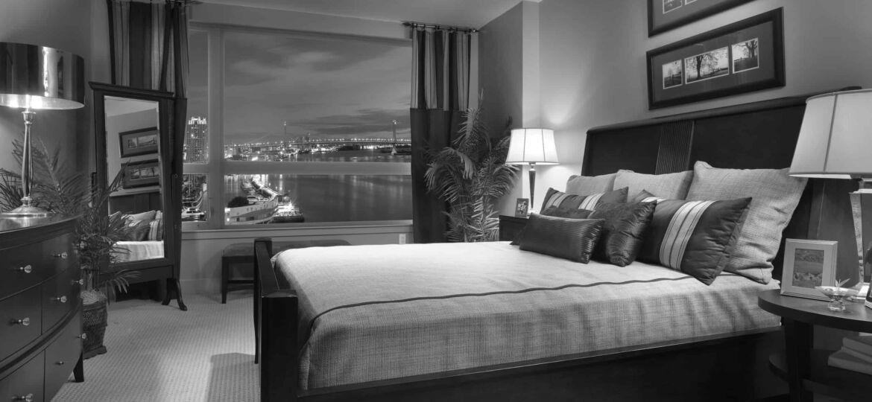 Bedroom at Luxury Condos at Dockside