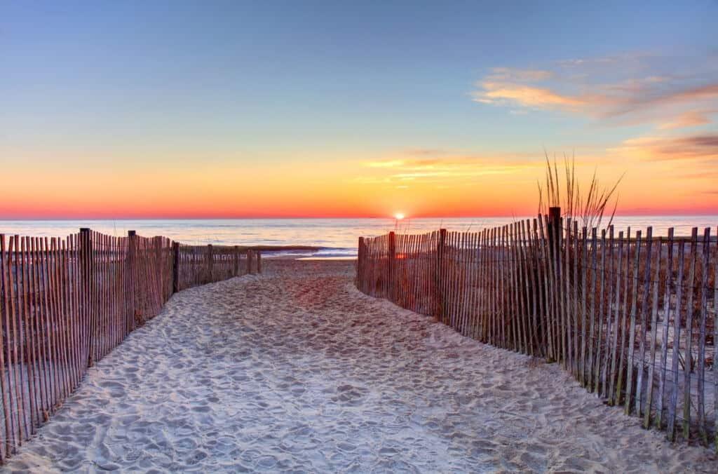 Rehoboth Beach, Delaware Sunrise