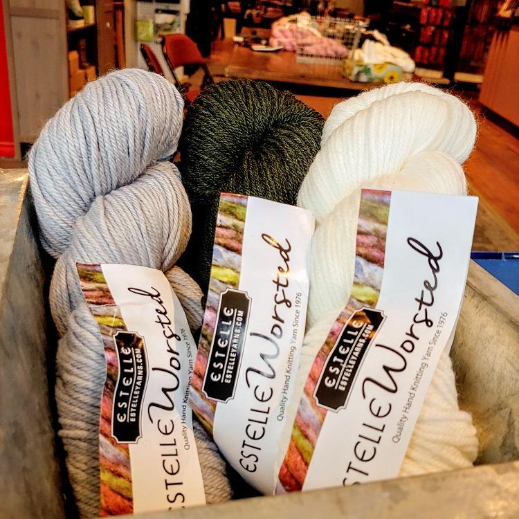 Estelle Yarns 100% Wool Worsted