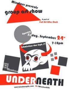 Minotaur Games Gifts Kingston Art After Dark 2021 Friday Sept 24 Group Art Show
