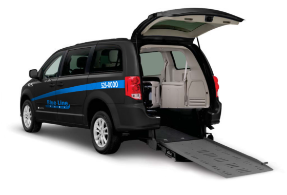 wheelchair accessible - back end