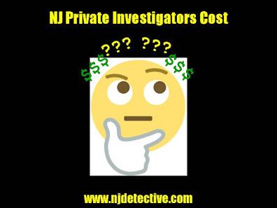 NJ Private Investigators Cost