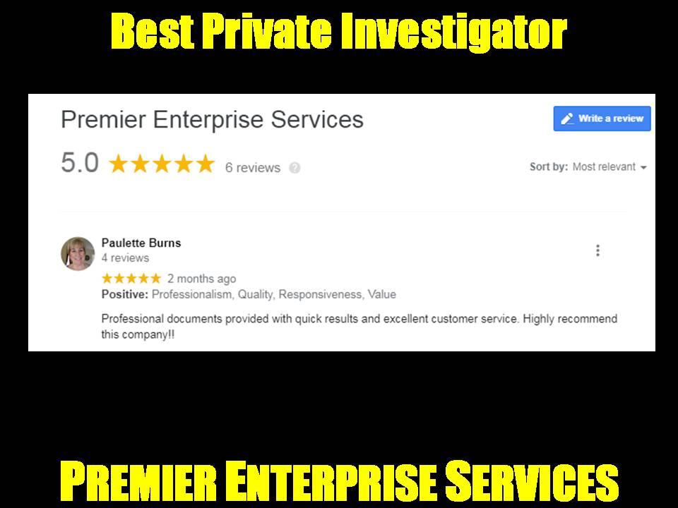 Best Private Investigator