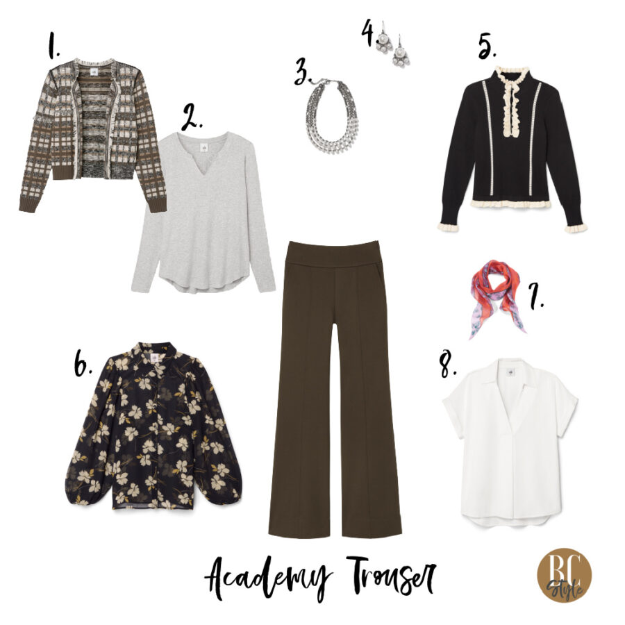 Tops that go with Academy Trouser
