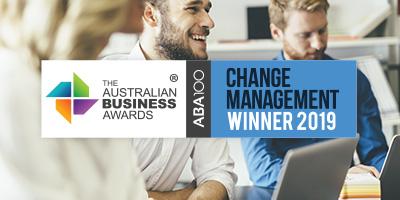 Change Management Awards 2019