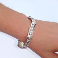 Sapphire Sea Urchin Bracelet