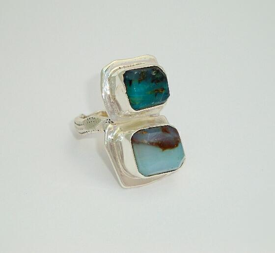 Dual Opal Ring