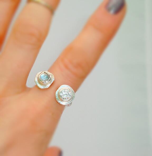Moonbeam Ring