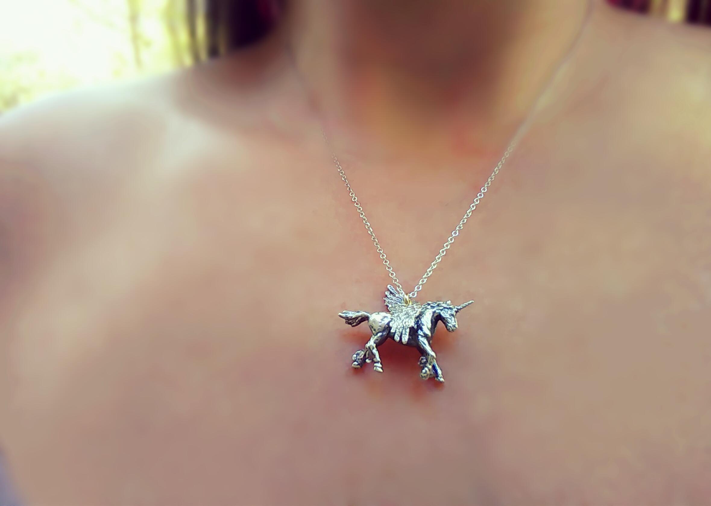 Folklore Unicorn Necklace