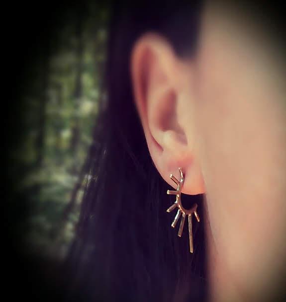 Tapered Spike Earrings