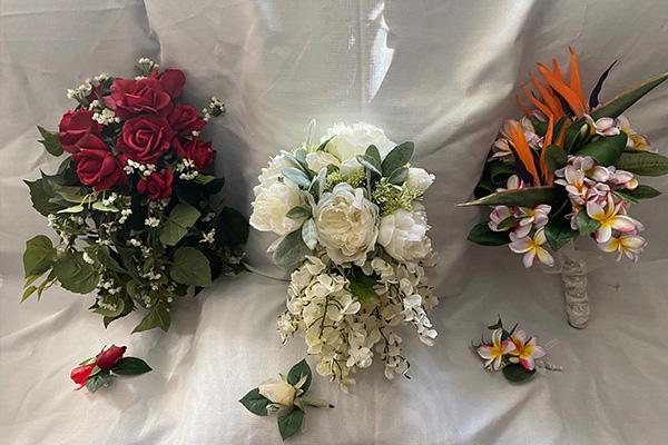 Bouquets to borrow
