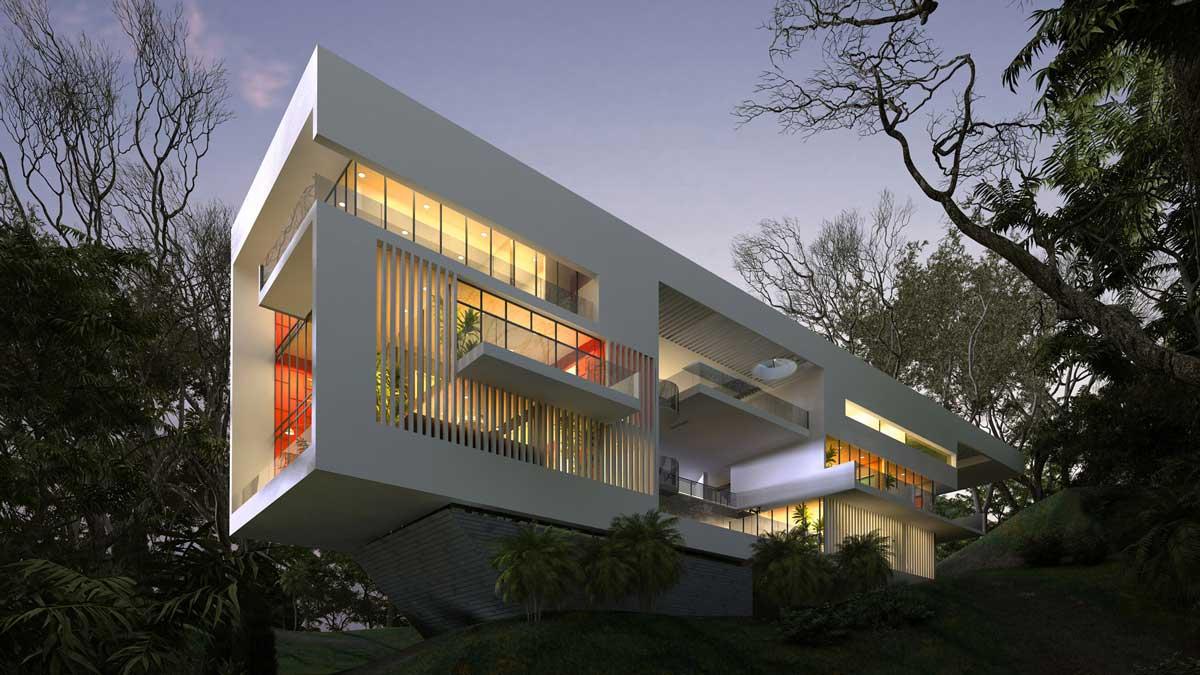 Single House Near, Los Angeles