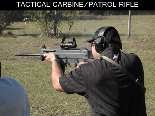 Tactical Carbine/Patrol Rifle